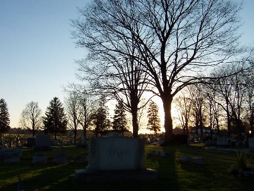 Cementary Sun